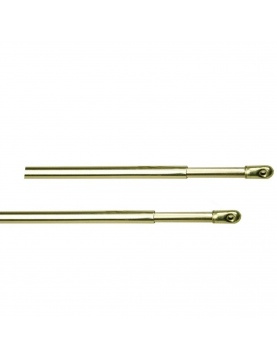 2 Barras para Visillos Dorada 70 a 110 cm