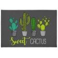 Tapis Décoratif Tendance Cactus (Multicolore)