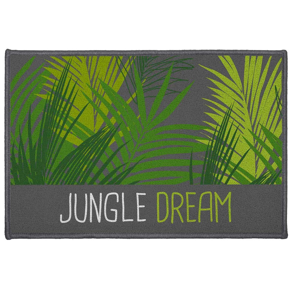 Tapis Décoratif Tendance Jungle (Multicolore)