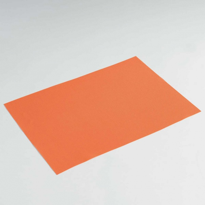 Set de Table Uni et Coloré (Orange)