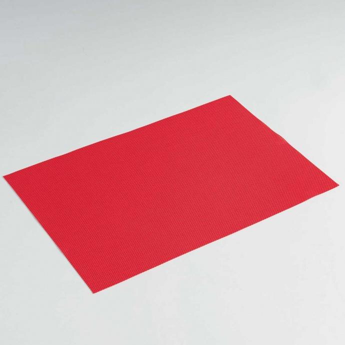 Set de Table Uni et Coloré (Rouge)