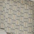 Nappe rectangulaire aux motifs géométriques