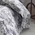 Parure de draps 5 pièces esprit savane (Blanc)