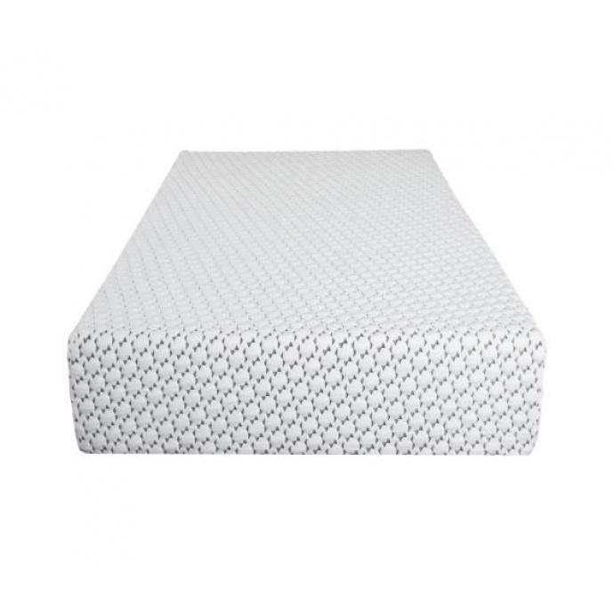 Matelas à Mémoire de Forme Visco-Touch (Blanc)