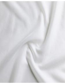 Tissu Voile de Coton en 100% Coton (Blanc)