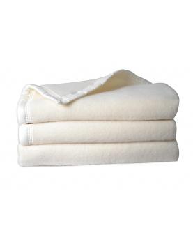 Manta doble cara 100% lana