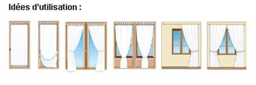 Conseil de pose et utilisation de vos rideaux