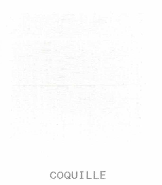 Housse de couette percale 240 x 220 cm unie - Coquille - 240 x 220 cm