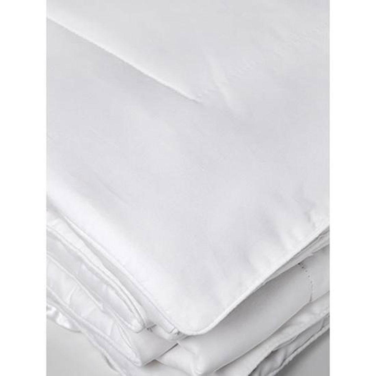 Couette Soie Été 200 g - Blanc - 240 x 260 cm