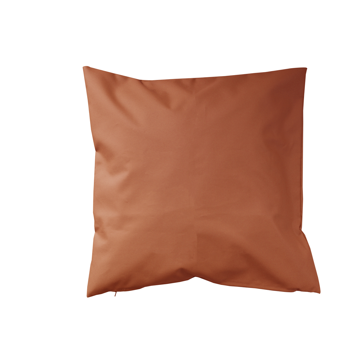 Housse de coussin d'extérieur en tissu outdoor - Orange - 45 x 45 cm