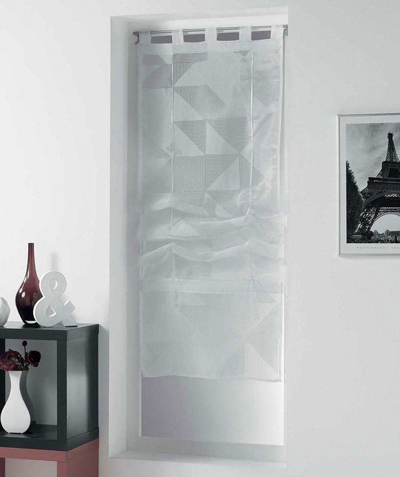 Store Droit Esprit Graphisme - Blanc - 60 x 180 cm
