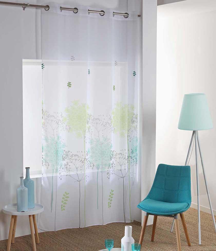 voilage reine des pr s multicolore homemaison vente en ligne voilages. Black Bedroom Furniture Sets. Home Design Ideas