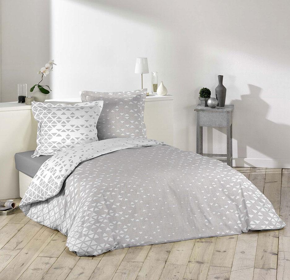 parure de lit esprit scandinave multicolore homemaison. Black Bedroom Furniture Sets. Home Design Ideas