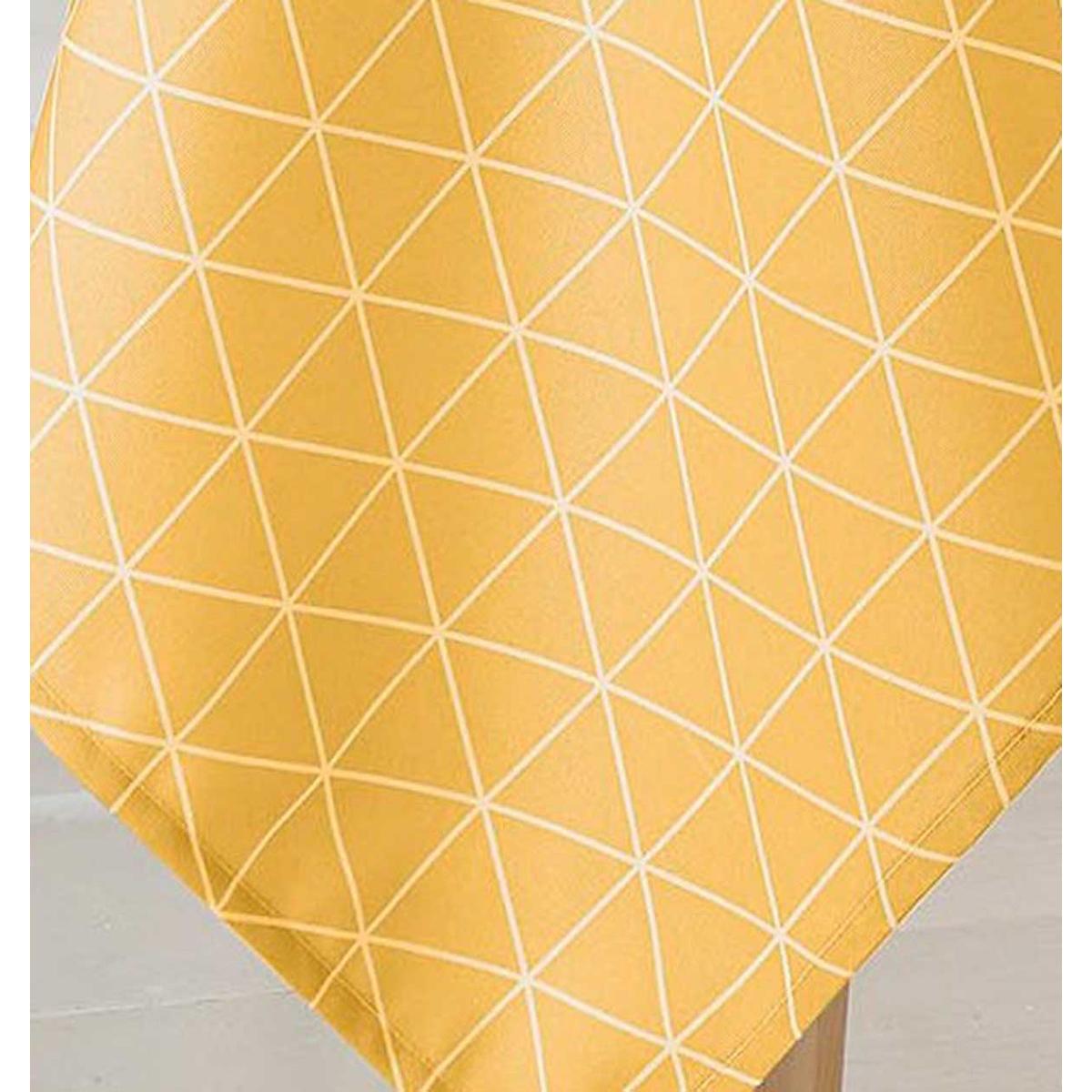 Nappe ronde Scandinave - Maïs - Diamètre : 180 cm