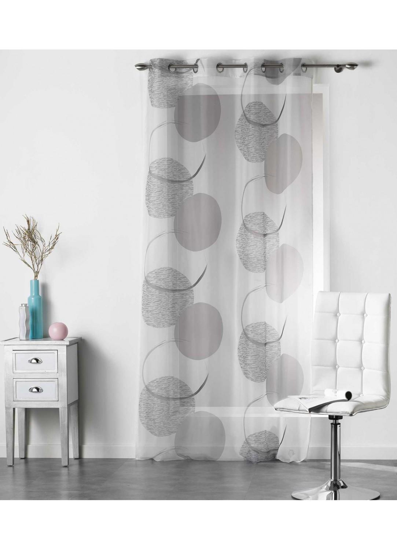 voilage tendance sph rique multicolore homemaison vente en ligne voilages. Black Bedroom Furniture Sets. Home Design Ideas