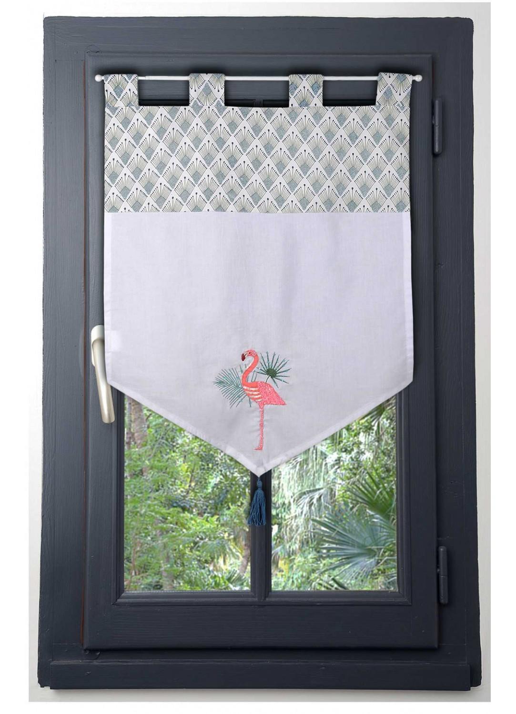 brise bise flamant rose blanc homemaison vente en. Black Bedroom Furniture Sets. Home Design Ideas