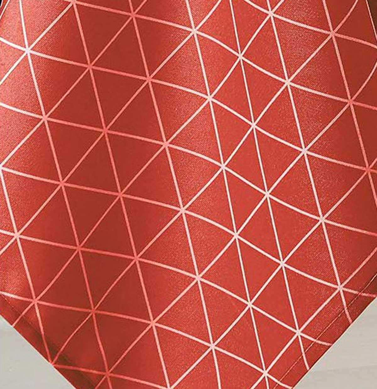 Nappe Ovale Scandinave - Cerise - 180 x 240 cm