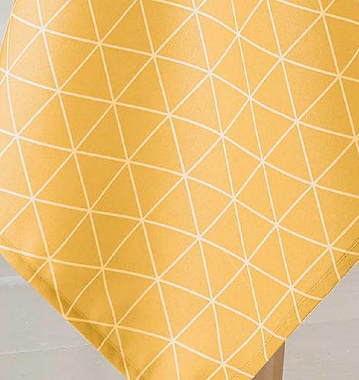 Nappe Ovale Scandinave - Maïs - 180 x 240 cm