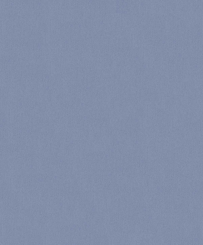 Papier Peint Uni en Intissé (Bleu Nuit)