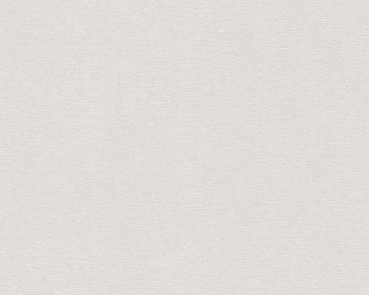Papier Peint Uni légèrement Tramé - Gris clair - 10 ml x 0,53 m