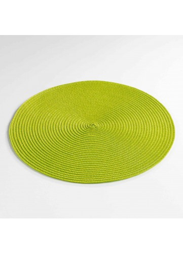 Set de Table Rond et Coloré - Anis - 35 cm
