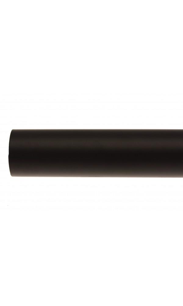Barre en Métal d'1m50 Ø de 28 mm - Noir - 2 m 50