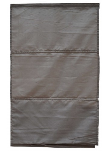 Store Bateau Aspect Soie - Taupe Grisé - 80 x 180 cm