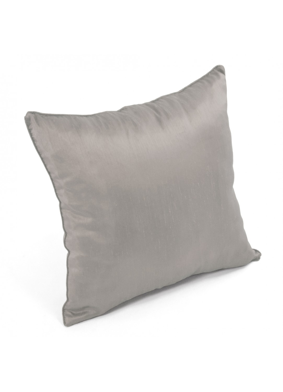 coussin aspect soie gris chocolat homemaison. Black Bedroom Furniture Sets. Home Design Ideas