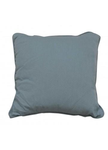 Coussin en 100% Coton Recyclé - Anthracite - 40 x 40 cm
