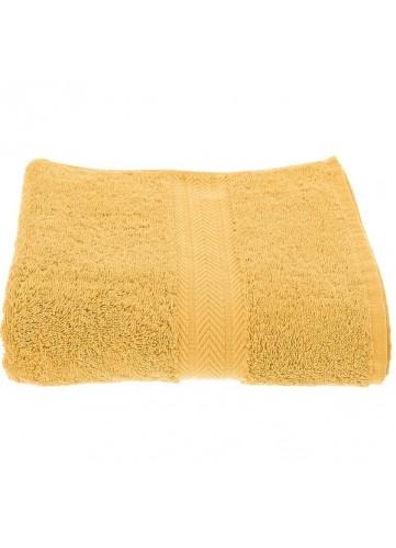 drap de bain 100 x 150 cm en coton couleur jaune safran jaune homebain vente en ligne. Black Bedroom Furniture Sets. Home Design Ideas