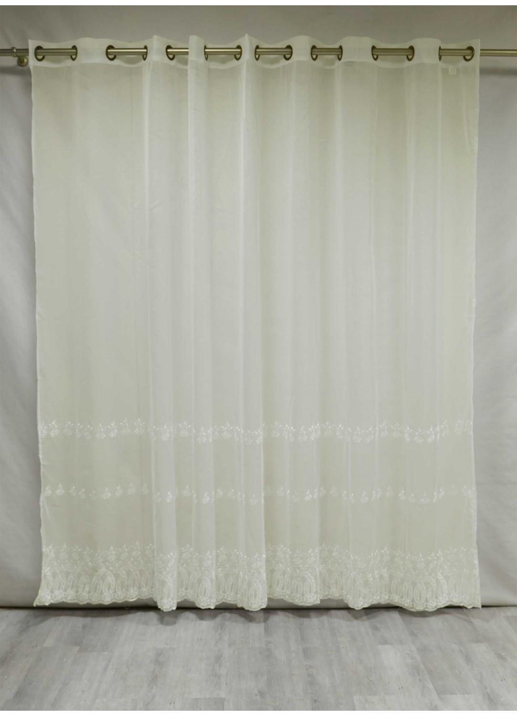 voilage grande largeur dentelle ivoire homemaison vente en ligne tous les voilages. Black Bedroom Furniture Sets. Home Design Ideas
