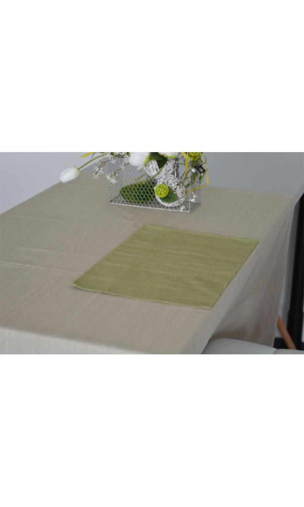 Set de Table en Coton Biologique - Vert - 34 X 48 cm