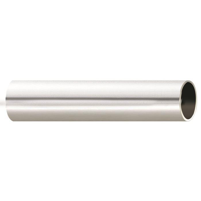 Tube Nu Chromé 2 m (Chromé)