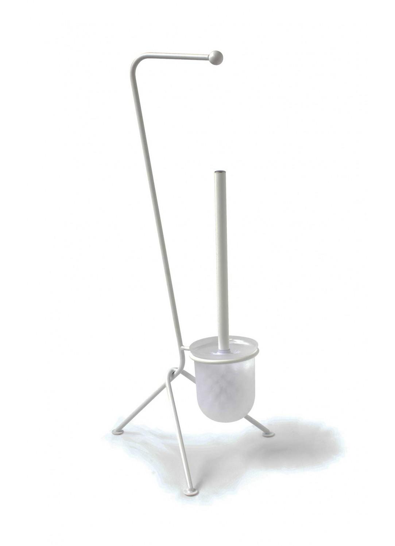 Serviteur Wc Design (Blanc)