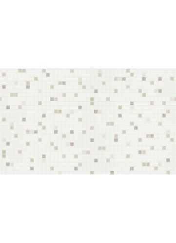 Papier peint motifs Petits Carrés - Brun - 10 m x 0,53 m