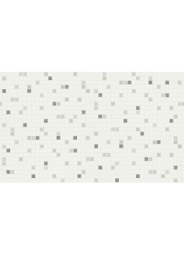 Papier peint motifs Petits Carrés - Noir - 10 m x 0,53 m
