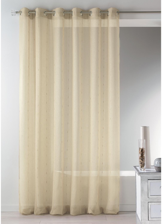 voilage en tamine tiss e grande largeur ivoire blanc gris homemaison vente en ligne. Black Bedroom Furniture Sets. Home Design Ideas