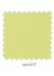 Housse de couette 260 x 240 cm pastel  Amande