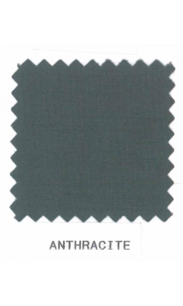 Drap percale 240 x 310 cm uni (Anthracite)