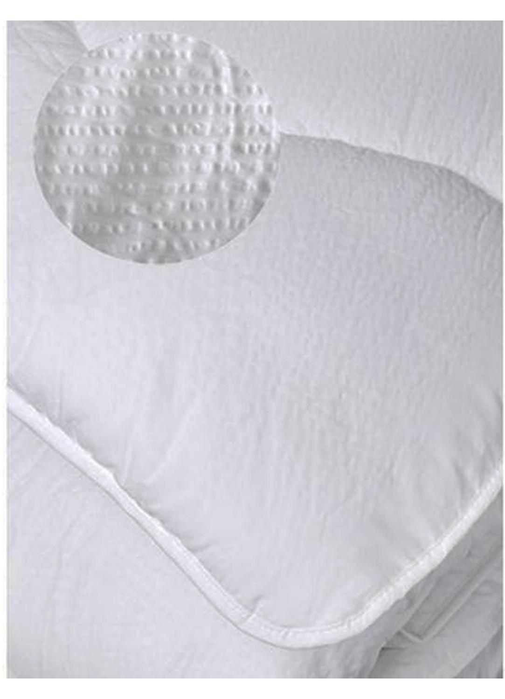 Couette Été Aspect Gaufré (Blanc)