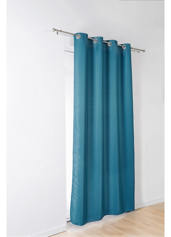 rideau fantaisie vaguelettes bleu clair beige gris homemaison vente en ligne rideaux. Black Bedroom Furniture Sets. Home Design Ideas