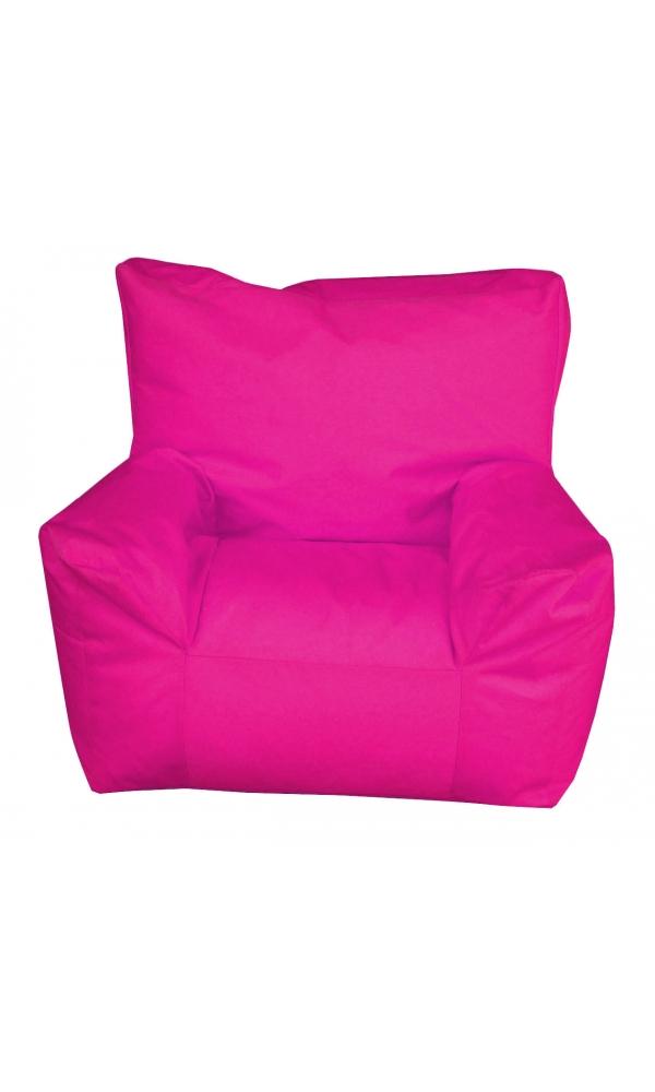 Pouf fauteuil enfant fuchsia achat poufs fauteuils for Pouf fauteuil