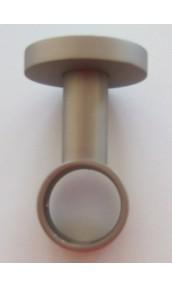 Support Plafond Nickel Matt diam 28mm
