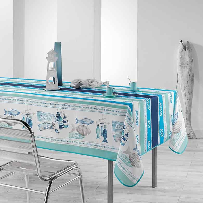 nappe rectangulaire oc an sans homemaison vente en. Black Bedroom Furniture Sets. Home Design Ideas