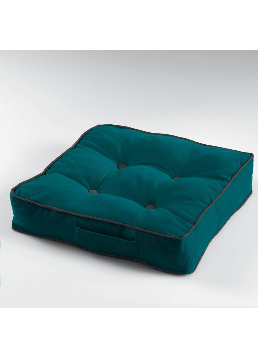 coussin de sol uni bleu homemaison vente en ligne coussins de sol. Black Bedroom Furniture Sets. Home Design Ideas