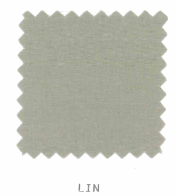 Housse de couette percale 200 x 200 cm unie - Lin - 200 x 200 cm