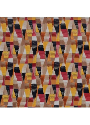 Tissu imprimé motif Arlequin