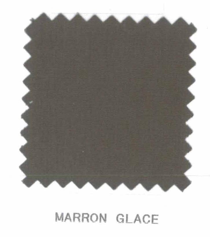 Promotion 20 housse de couette percale 240 x 220 cm unie homemaison ancien prix - Marron glace prix ...