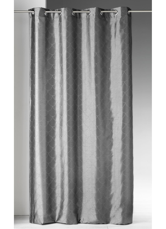 Rideau en shantung à imprimés