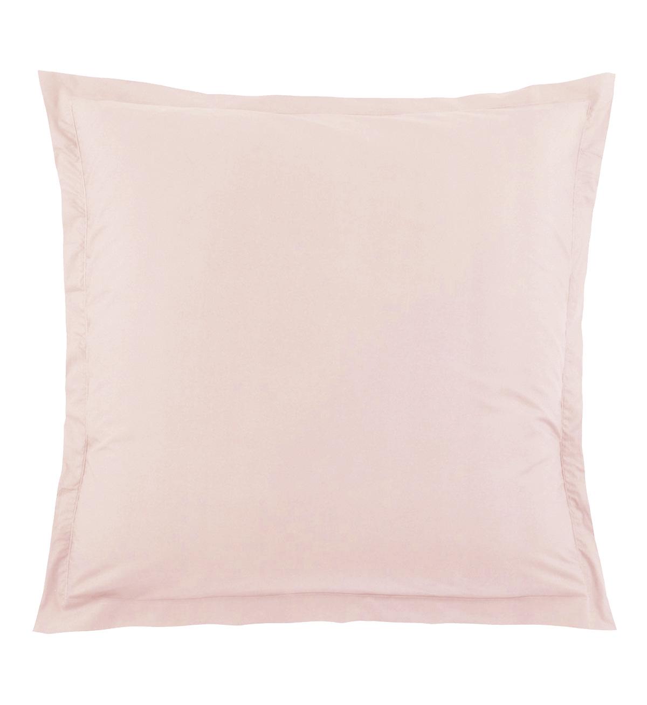 Taie d'Oreiller Unie en 100 % Coton - Nude - 65 x 65 cm